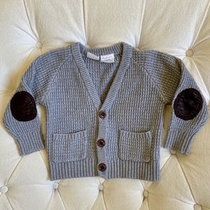Cute Elbow Patch Sweater